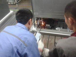 Electronic Refrigeration Appliance Pipe High Frequency Welding Equipment Safely